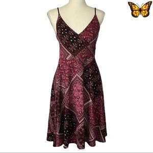 Kismet Leeson F17 Fit and Flare Dress Size Small